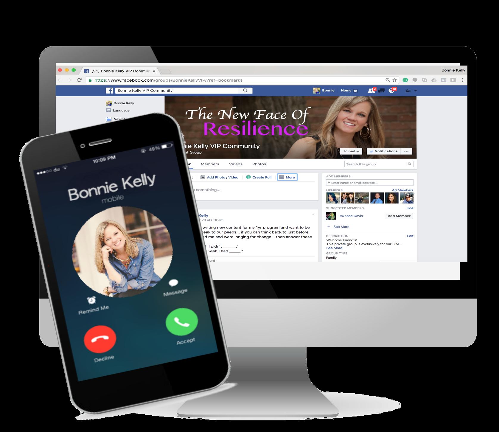 FB iphone bk
